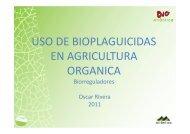 uso de bioplaguicidas en agricultura organica - Pymerural