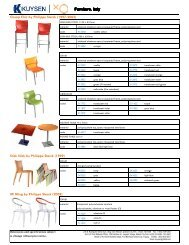 Cheap Chic by Philippe Starck (1997-2003) Furniture. Italy ... - Kuysen