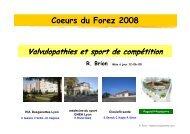 Valvulopathies et sport de compétition - Club des Cardiologues du ...