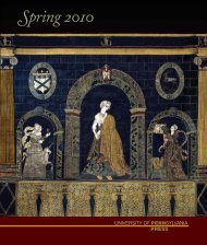 Spring 2010 catalog - University of Pennsylvania