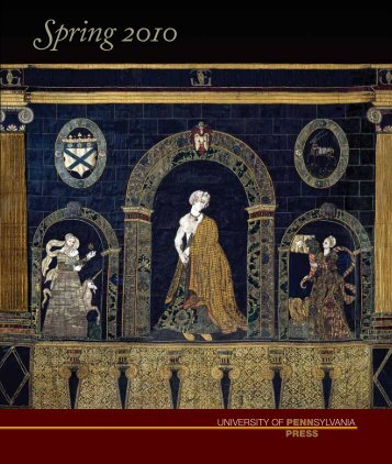 Spring 2010 catalog - University of Pennsylvania