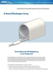 8-Kanal Ellenbogen-Array - NORAS MRI products GmbH