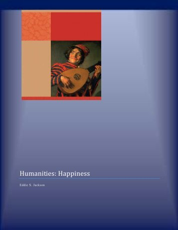 Humanities: Happiness - Eddie Jackson