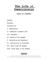 Ramanujacharya – Biography - ebooks - ISKCON desire tree