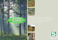 Machined Softwood Products