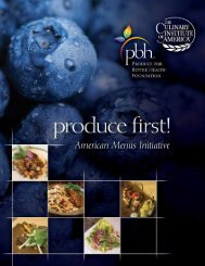 American Menus Initiative - Produce for Better Health Foundation