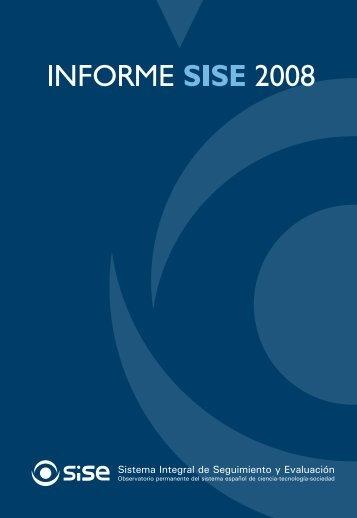Informe SISE 2008 - Ministerio de Economía y Competitividad