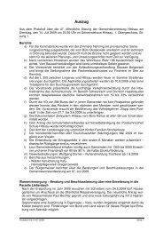 Protokoll 47b 14-07-2009 - Hittisau
