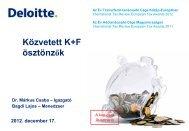 Közvetett K+F ösztönzők - Magyar Innovációs Szövetség