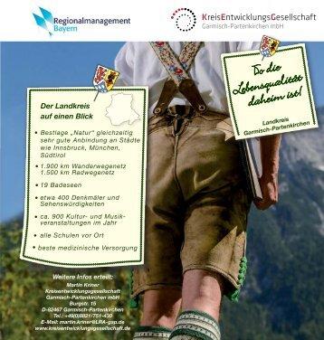 hier als Download - Kreisentwicklungsgesellschaft Garmisch ...