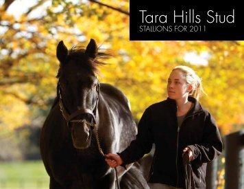 Breeder Brochure - Tara Hills Stud