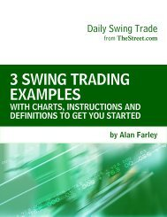 3 SWING TRADING EXAMPLES - TheStreet