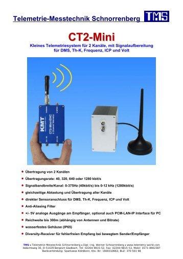 CT2-Mini - TMS · Telemetrie-Messtechnik Schnorrenberg