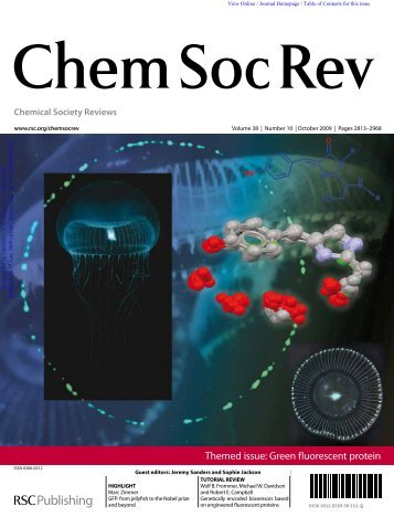 Chemical Society Reviews - Chemistry - University of Kentucky