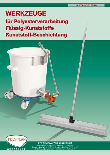 NEU! - PPW POLYPLAN Werkzeuge GmbH