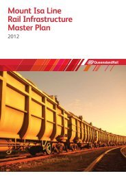 Mount Isa Line Rail Infrastructure Master Plan - Queensland Rail