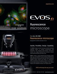 Millennium: Flyer - EVOS fl - Millennium Science