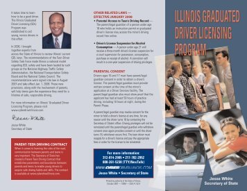 Graduated Driver License - New GDL Laws Effective January 1, 2008