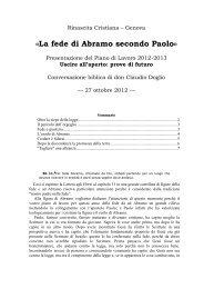 La fede di Abramo secondo Paolo - Symbolon.net