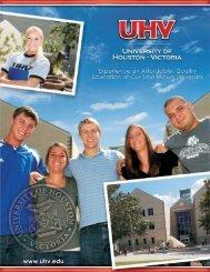 About UHV - University of Houston-Victoria