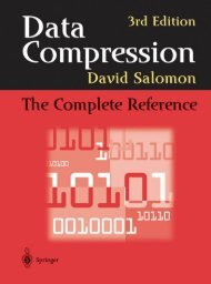 Data Compression: The Complete Reference