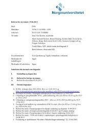 Referat 19.06.2013 - Norgesuniversitetet