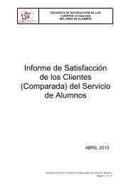 Informe Encuesta Cliente Comparada.