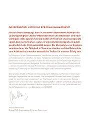 Richtlinien für das Personalmanagement - Monier.com