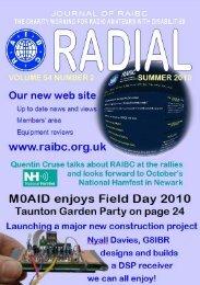 Radial Magazine Summer 2010 - raibc