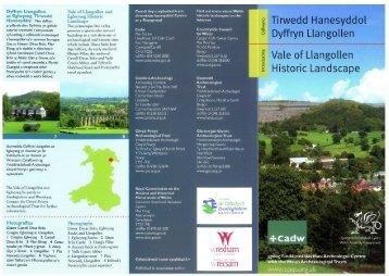 Tirwedd Hanesyddol Dyffryn Llangollen Vale of Llangollen Historic ...