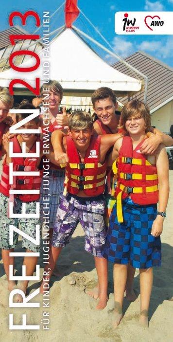 Sommerkatalog 2013 - AWO-Reisen