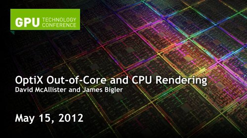 Paging - GPU Technology Conference