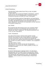 prepos Benutzerhandbuch Preisbildung Artikel Preisbildung ...