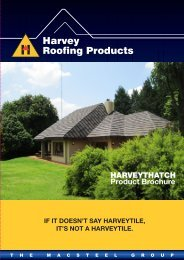 HARVEYTHATCH Product Brochure - Macsteel