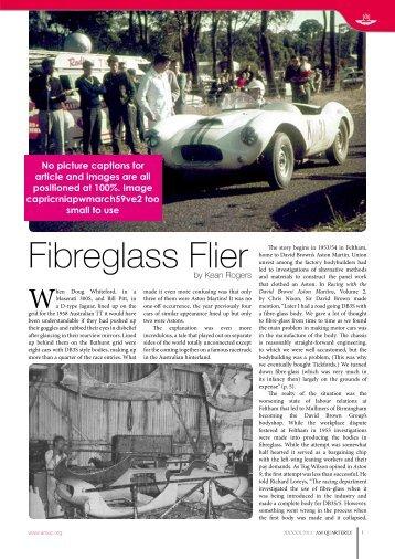 Fibreglass Flier - Buchanan Motor Company