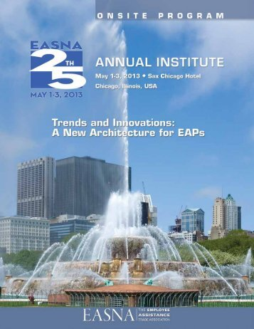 Download the 2013 Institute Final Program - EASNA