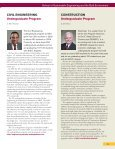 2009 SSEBE Annual Report - School of Sustainable Engineering ... - Page 5