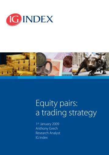 Equity futures trading strategies