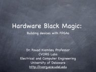 Hardware Black Magic - Building devices with FPGAs - Defcon