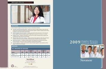 Annual Report 2009 - Novation