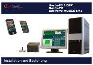 Gastro PC Installations - POSdirect GastroSysteme