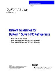 Retrofit Guideline - DuPont