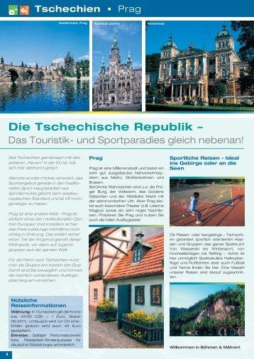 Tschechien - Die Schulfahrt - Schulfahrt.de