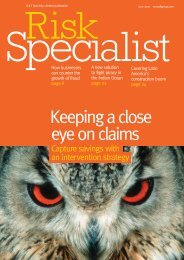 To download our previous edition of Risk Specialist - JLT