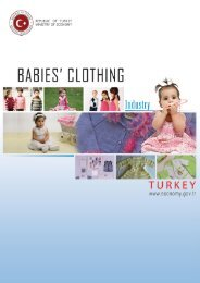 Babies' Clothing Industry in Turkey - Turkey Contact Point