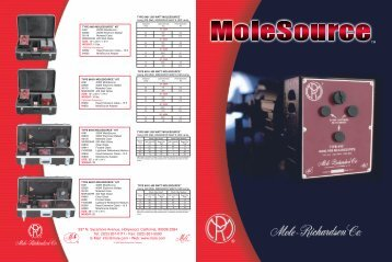 MoleSource Brochure - Mole-Richardson