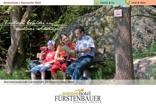 Hausprospekt vom Sonnenhotel Fürstenbauer - Sonnenhotels