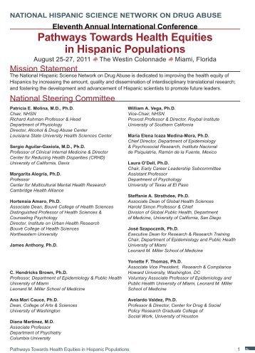2011 Program Version 2.indd - National Hispanic Science Network ...