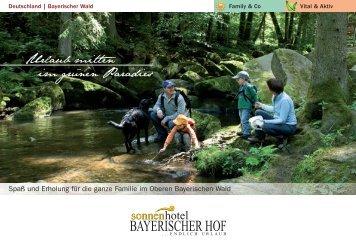 Hausprospekt vom Sonnenhotel Bayerischer Hof - Sonnenhotels