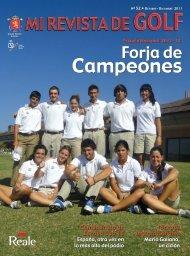 Campeones Campeones - Real Federación Española de Golf